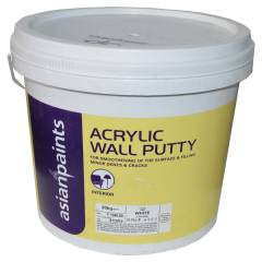 Asian Paints Acrylic Wall Putty, 1354 Gr-M0, Colour: White, 10 kg