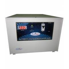 Pulstron PTI-10095B 10kVA Single Phase Stabilizer with Bypass for Mainline