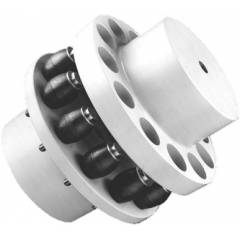 Lovejoy Pin With Nut For RB Pin Bush Couplings, Size: 400-10