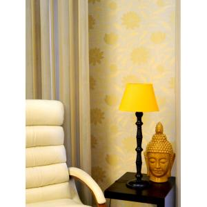 Tucasa Table Lamp with Oval Shade, LG-89, Weight: 800 g