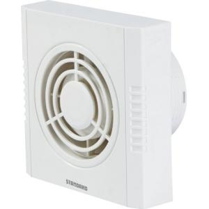 Standard Refresh Air-DXW Plastic Exhaust Fan White, Sweep: 150mm