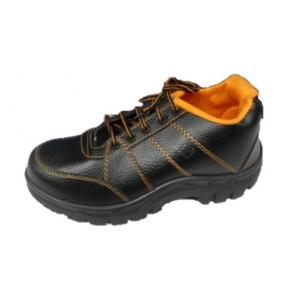 Safari Star Model Black Safety Shoes, Size: 9