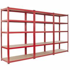 4 Layer Heavy Duty Storage Rack, Load Capacity: 200-250 kg/Layer
