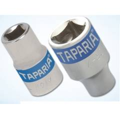 Taparia 1/2 Inch Square Drive Bihexagonal Exel Socket, Size: 22 mm (Pack of 10)