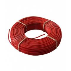 Kalinga 6.0 Sq mm Red FR PVC Housing Wire, Length: 90 m