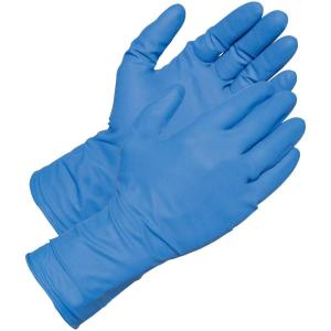 Gabriel Powder Free Nitrile Examination Hand Gloves, Size: Small (Pack of 100)