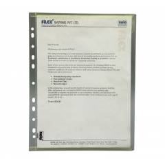Solo Document File Bag, CH201, Size: A4 (Pack of 10)