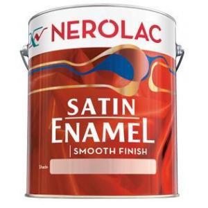 Nerolac Satin Enamel Paint ST10-3.6L