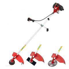 Neptune Simply Farming 0.95 kW 3 in 1 Red Brush Cutter with 3 Blades, BC-360