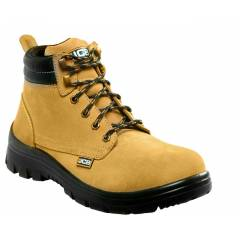 JCB Trekker Steel Toe Brown Safety Shoes, Size: 6