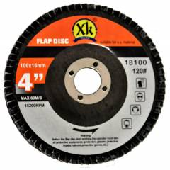 Xtra-Kut 100mm 120 Grit Flap Disc (Pack of 20)
