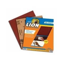 Norton Lion Open Kote Dry Sheet Paper Sheets, AOP29L (Pack of 500)