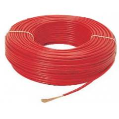 Reliance PVC Red Insulated Unsheathed Single Core Industrial cable Wire, 1.5 Sqmm, Length: 90 m
