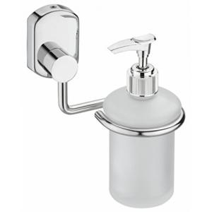 Jovial 210 Curio Stainless Steel Glossy Finish Liquid Soap Dispenser