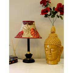 Tucasa Table Lamp with Poly Silk Shade, LG-511, Weight: 500 g