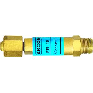 Arcon Flash Back Arrestor for Oxygen Regulator, ARC-2091