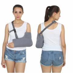 KS Care Grey Comfortable Soft Arm Sling, KS-2008-S, Size: Small