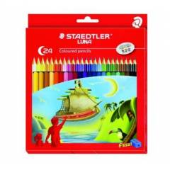 Staedtler 136 C 24 Luna Coloured Pencil (Pack of 24)