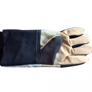 Shiva Chrome Leather Hand Gloves (Pack of 10)