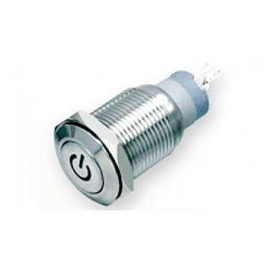 Antech FLM16SS-FJ-C-11-5P Push Button, Voltage: 110 V (Pack of 2)