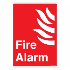 Safety Sign Store Fire Alarm Sign Board, FE517-A4AL-01
