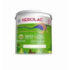 Nerolac Impression Eco Clean White Paint-1L
