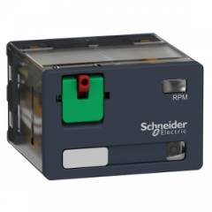 Schneider 15A 120VAC Plug in Power Relay With LED, RPM42F7