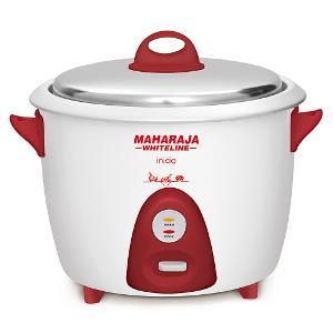 Maharaja Whiteline Inicio 700W 1.8 Litre Electric Rice Cooker, RC 100
