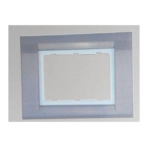 Anchor Roma Glossy Plates with White Base Frame 30282CR (Pack of 6)