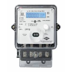 HPL 5-30A Single Phase LCD Energy Meter with Battery Backup, SPPB1320110E1