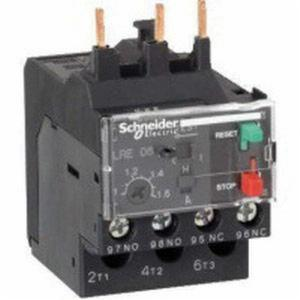Schneider 1NO+NC 3 Pole EasyPact TVS Differential Thermal Overload Relay, LRE480