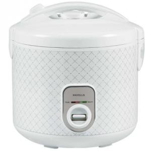 Havells 700W Max Cook Plus White Electric Cooker, GHCRCBKW070