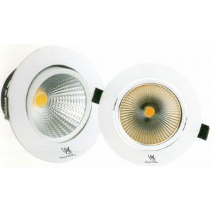 VPL 9W Round Cool Day White COB Spot Light