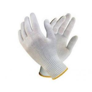 Nova Safe Cotton Knitted Hand Gloves, 25-35 g (Pack of 12)
