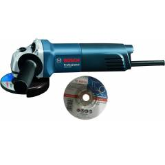Bosch GWS 600 4 Inch Angle Grinder & 20 Pieces Grinding Wheel Combo