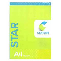 Century Star A4 Size 75 GSM Copier Paper (Pack of 6)