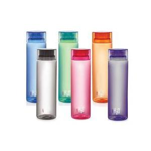 Cello H2O 1000ml Assorted Plastic Water Bottle (Set of 6)