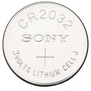 Sony CR2032 3V Lithium Coin Cell (Pack of 5)