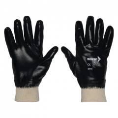 Mallcom 10 Inch Cut Resistant Cut Level 1 Safety Gloves, MFKB (Pack of 4)