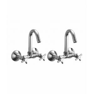 Snowbell Corsa Brass Sink Mixer (Pack of 2)