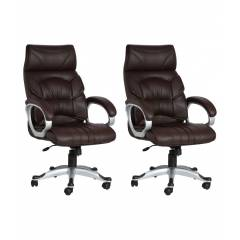 Divano Modular 0010 High Back Executive Office Chair (Pack of 2)