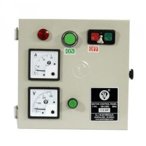 SJ MHD1 6-10A Single Phase Motor Control Panel, P55