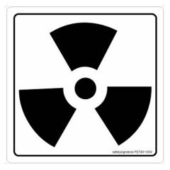Safety Sign Store Radiation Sign Board, FE740-210PC-01, (Pack of 5)