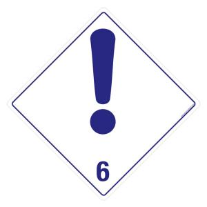 Safety Sign Store Exclamation Mark 6 Sign Board, HW312-210AL-01