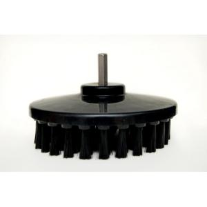 Buff King 5.25 Inch Black Plastic Drill Brush