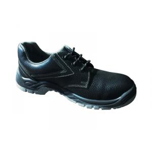 Atlas Ginger Plus Black Steel Toe Safety Shoes Size: 10 (Pack of 5)