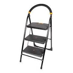 Atharvo Black 3 Step Multipurpose Ladder