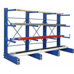 Rana Cold Rolled Steel Cantilever Rack, Load Capacity: 1000-1500 kg/Layer