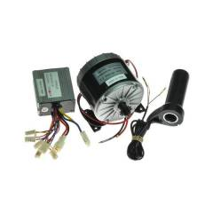 Techtonics TECH1083-1 350W MY1016 Motor with Motor Controller & Twist Throttle for DIY Electric Bicycle Kit