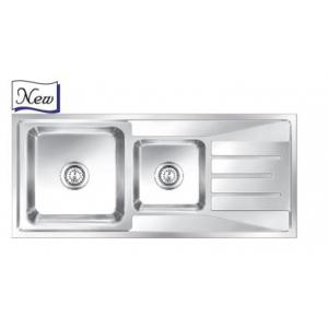 Nirali Orus Anti Scratch Finish Kitchen Sink, Size: 1165x505 mm